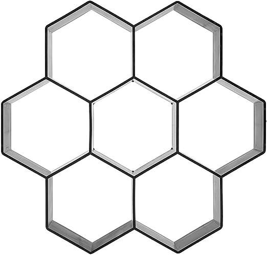 ユニークな六角形のデザイン強力なDIYパスモールド、パスモールド、使いやすいガーデンヤード用の耐久性