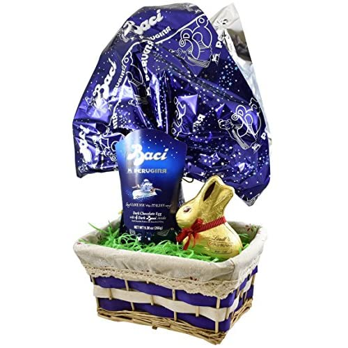 Hot sale perugina baci dark chocolate easter egg with lindt easter hot sale perugina baci dark chocolate easter egg with lindt easter bunny 7 oz easter negle Image collections