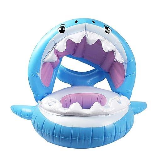 starter Arrancador de natación para bebés, con baldaquino ...