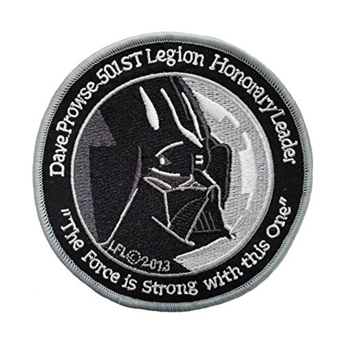 Outlander Gear Star Wars 501st Legion Darth Vader Embroidered Iron/Sew-on Applique Patches - 501 Legion Costumes