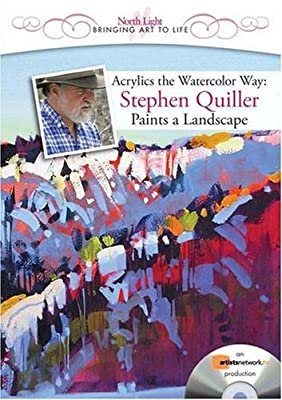 Acrylics the Watercolor Way - Stephen Quiller Paints a Landscape (DVD) (Landscapes in Living Color)