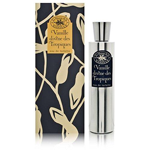 Vanille Divine des Tropiques by La Maison De La Vanille Eau De Toilette 3.3 oz Spray