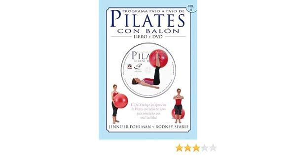 PROGRAMA PASO A PASO DE PILATES CON BALÓN. Libro y DVD.: Amazon.es ...