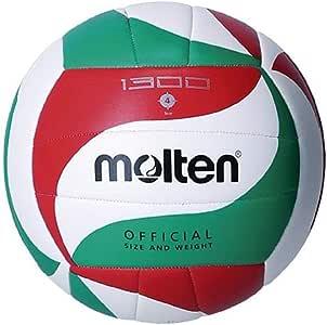 MOLTEN Balón Voleibol V4M1300 Talla 4: Amazon.es: Deportes y aire ...