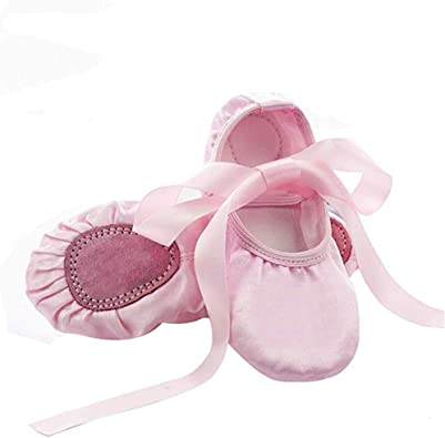 Ballet Dance Shoes Split Sole Flat