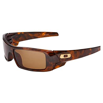 oakley gascan brown tortoise polar sunglasses  gascan brown tortoise/bronze pol 000 by oakley, inc