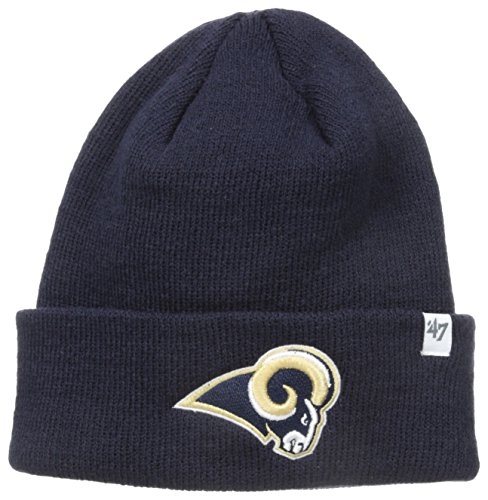 Cuff Knit Hat - NFL St. Louis Rams '47 Raised Cuff Knit Hat, Navy, One Size