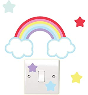 Fairy Flower /& Butterfly Light Switch Wall Stickers Childrens Bedroom Playroom Perfect for any themed room