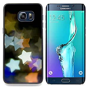 - Design Bokeh Stars/ Hard Snap On Cell Phone Case Cover - Cao - For Samsung Galaxy S6 Edge Plus