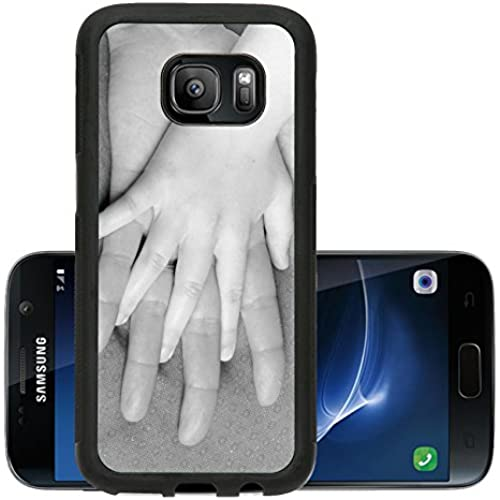Liili Premium Samsung Galaxy S7 Aluminum Snap Case Hand together love family sign IMAGE ID 14175785 Sales