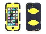 Griffin Denim/Citron Survivor All-Terrain Case for iPod touch (5th/ 6th gen.) - Extreme-duty case