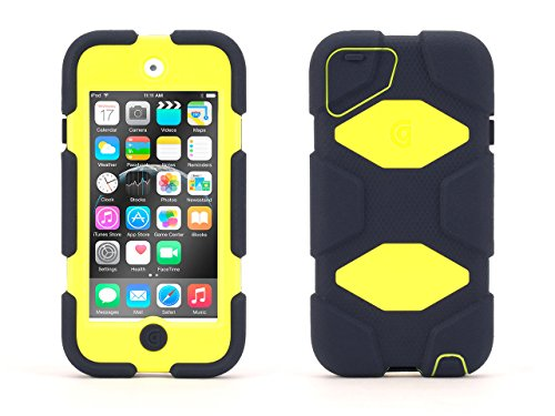 Griffin Denim/Citron Survivor All-Terrain Case for iPod Touch (5th/ 6th gen.)