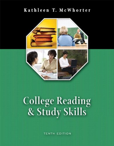 College Reading and Study Skills (with MyReadingLab) Value Package (includes Pearson Student Planner) (10th Edition)