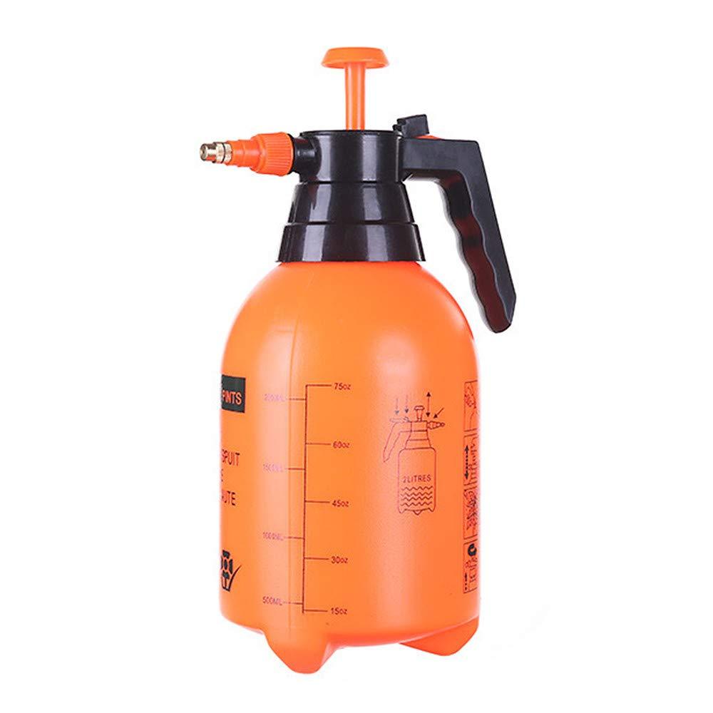 Glumes Pressure Sprayer, 2 L Garden Sprayer & Mister for Water, Herbicides, Pesticides, Fertilizers, Mild Cleaning Solutions and Bleach.
