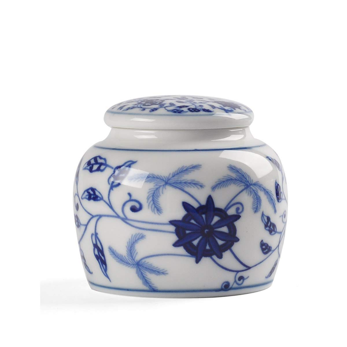 Coconut Willow 8haowenju GuyuexuanPet Casket, Urn Cans, Animal Coffins, Dual-use, Cat and Dog Death Souvenirs, Handmade Ceramic Sealed Cans The (color   Coconut Willow)