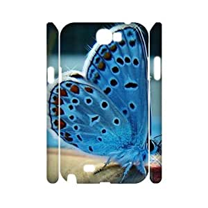 W-K-E-R2054417 3D Art Print Design Phone Back Case Customized Hard Shell Protection Samsung Galaxy Note 2 N7100