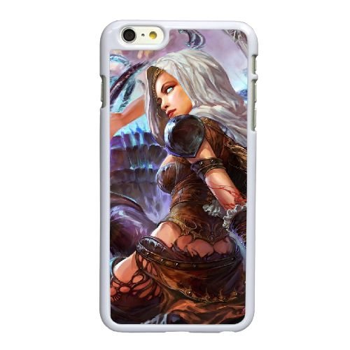 W5O24 monde abandonné F7F2HT coque iPhone 6 Plus de 5,5 pouces cas de couverture de téléphone portable coque blanche KJ2BRL7JA