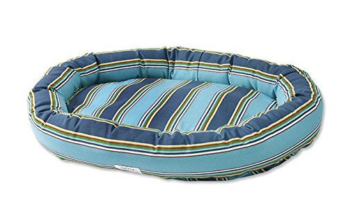 Orvis Watershed Indoor/Outdoor Wraparound Dog Bed Cover/Small, Blue Multi, Small by Orvis