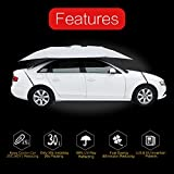 YEEGE Universal Fit Car Sun Shade Canopy Cover