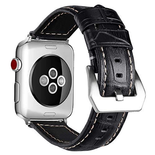 Uhrenarmbänder Streng Sivel Armband Elegant Apple Watch 38mm Edelstahlarmband Gliederarmband Schwarz Verschiedene Stile