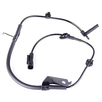 OCPTY ABS Sensor, Front Left Wheel Speed Sensor Fit for Chrysler  200/300/Sebring,Dodge Charger/Magnum/Avenger/Journey ALS2408 Pack of 1