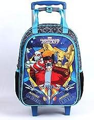 Mala Escolar G com Rodinhas, Guardiões da Galáxia, DMW Bags, 11440, Colorido