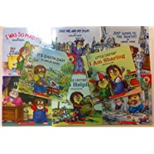 Mercer Mayer's Little Critters Set of 8 Books Includes the Best Teacher Ever, I Was so Mad, I Am Sharing, It's Earth Day!, Good for Me & You, I Am Helping, Just Me & My Mom & Going to the Dentist