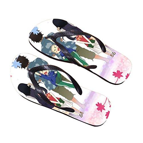 Bromeo AnoHana Anime Unisex Flip Flops Chanclas 685