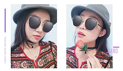 Lunettes Anti Pilote Conduite Soleil Lumière Anti de UV Vertige Personnalité Polarisé Mode Tendance C3 Ms Couleur Coloré Vintage C2 Miroir rRrZq