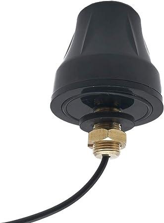 Antena Impermeable IP67 para Exterior de 2 G 3G 4G LTE con Montaje en Tornillo direccional LTE Antena SMA Macho RG174 de 9,8 pies