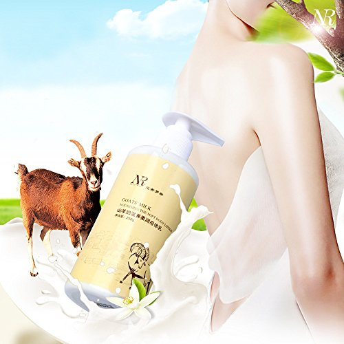 R Goat Whitening Body Milk Moisturizing Whitening Body Lotion To Chicken Skin (White) (Instant Corrective Serum)