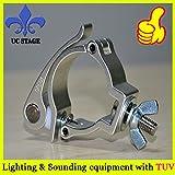 Ochoos aluminum lighting quick locking 2inch clamp