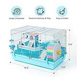ROBUD Large Hamster Cage Gerbil Haven Habitat Small