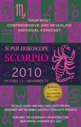 (Scorpio (Super Horoscopes 2010) by Margarete Beim (2009-07-07))
