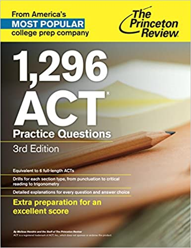 Amazon 1296 act practice questions 3rd edition college test amazon 1296 act practice questions 3rd edition college test preparation ebook princeton review kindle store fandeluxe Choice Image