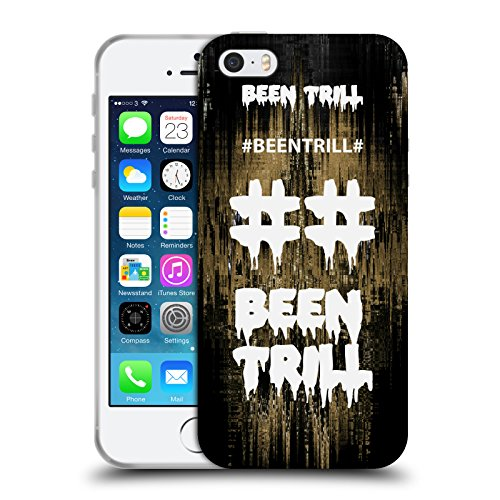Official Been Trill Fast Lane Glitch Soft Gel Case for Apple iPhone 5 / 5s / SE