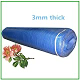 Underlayment for Laminate Flooring Blue Underlayment Padding 3 in 1 Heavy Duty 3mm Thick Flooring Foam 200 sqft per roll