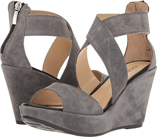 Cordani Women's Ravi Grey Suede Wedge