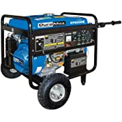 DuroMax XP8500E-CA 8,500 Watt 16 HP OHV 4-Cycle Gas Powered Portable Generator With Wheel Kit And Electric Start...