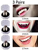 Moon Boat Vampire Fangs Teeth - Halloween Party Zombie Costume Cosplay Supplies Decorations Props