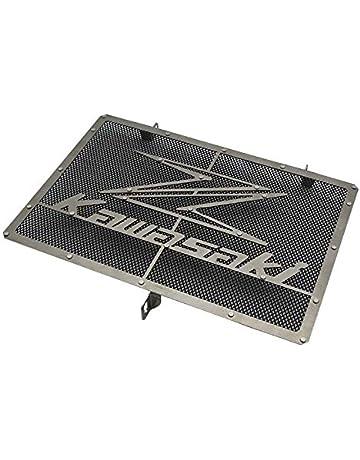 LIWIN Moto Accessoires For Kawasaki Z650 Z 650 2017 Motorcycle radiateur Garde Grille Grill Protecteur Accessoires en acier inoxydable Color : Blcak