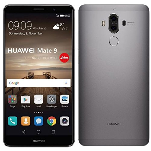 Huawei Mate 9 MHA-L29 Space Grey 64GB / 4GB RAM - Factory Unlocked, International Version, No Warranty, GSM ONLY, NO...