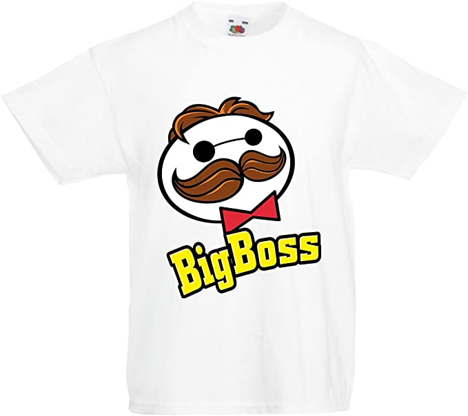 BOSS-Humoristique//drôle//Nouveauté//à manches courtes pour enfants sur le thème de T-Shirt