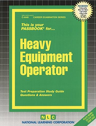 Heavy Equipment Operator (Passbooks)