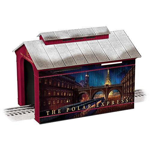 Lionel The Polar Express Covered Bridge Train