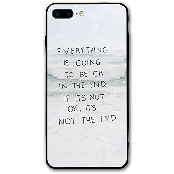 IPhone 8 Plus Case Everything Will Be Fine Shield Protective Skin For IPhone 8 Plus Flexible