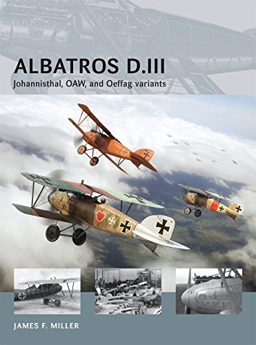 Albatros D.III: Johannisthal, OAW, and Oeffag variants (Air Vanguard) from Osprey