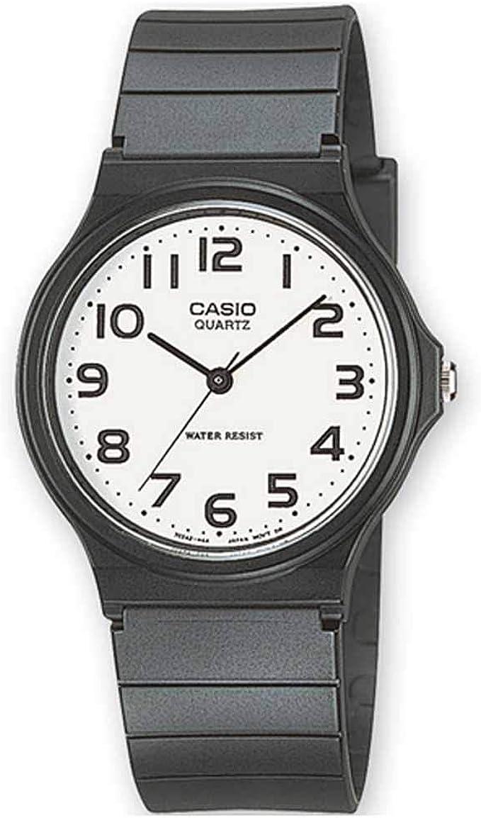 Casio Reloj Analógico para Hombre de Cuarzo con Correa en Resina MQ-24-7B2LEF: Amazon.es: Relojes