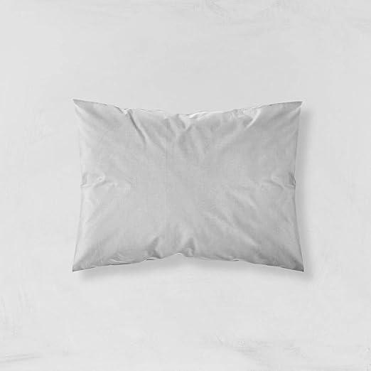 ZZZEN - Funda de almohada de satén de algodón 100% orgánico de 120 hilos (300 TC)