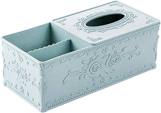 NUOMIZAI Caja de pañuelos-Caja de pañuelos Rectangular de plástico ...
